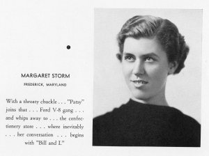 Image from Hood College's 1938 Touchstone Yearbook, courtesy of the Hood College Archives.